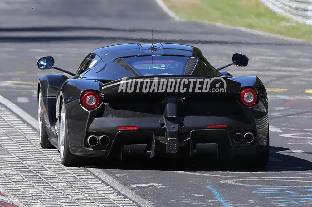 Spiata la Ferrari LaFerrari XX al Nürburgring!