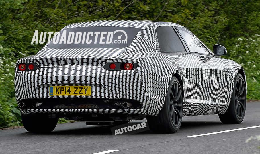 Spiata una misteriosa Aston Martin berlina – forse è meglio chiamarla Lagonda
