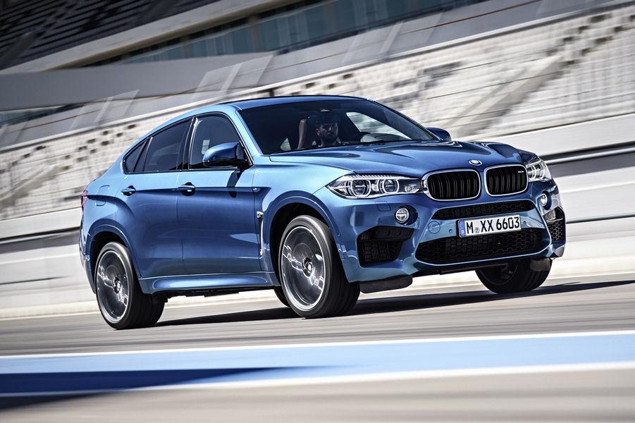 Nuove BMW X5 M e X6 M, potenza da vendere