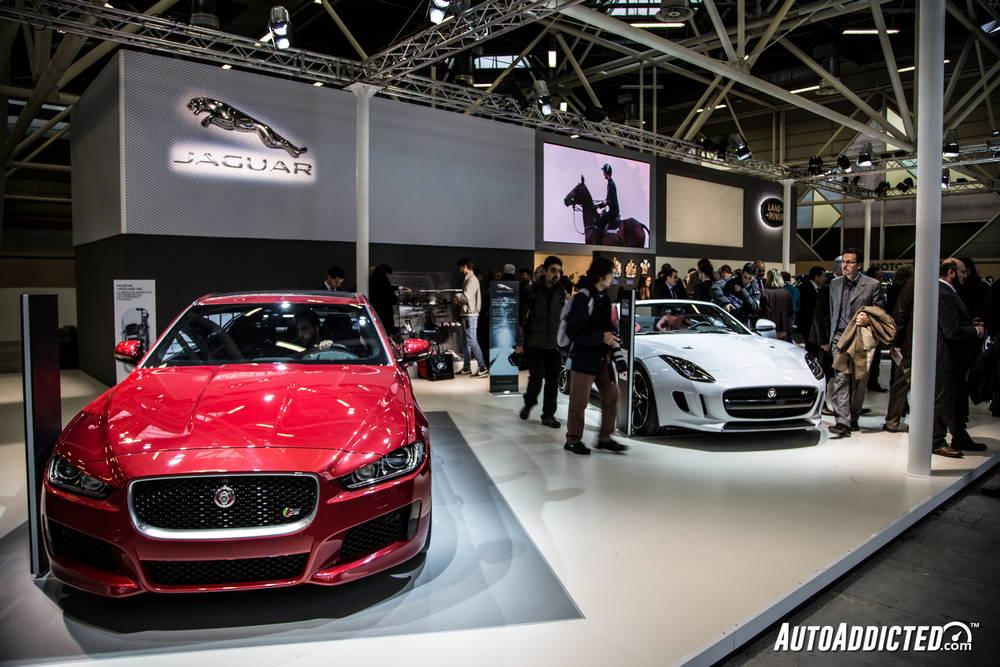 La jaguar XE si lascia ammirare al Motor Show di Bologna 2014