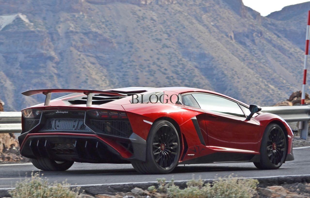 Sorpresa la Lamborghini Aventador SV definitiva