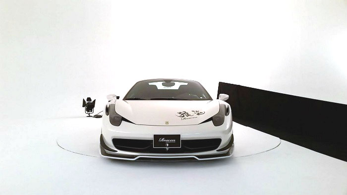 Rowen International e il suo kit per la 458 Spider