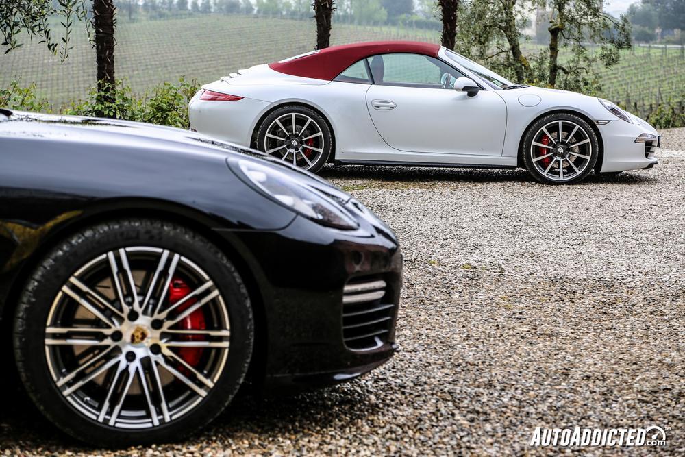 Porsche Panamera GTS & Carrera 4S Cabrio: i nostri Test Drive nel Chianti