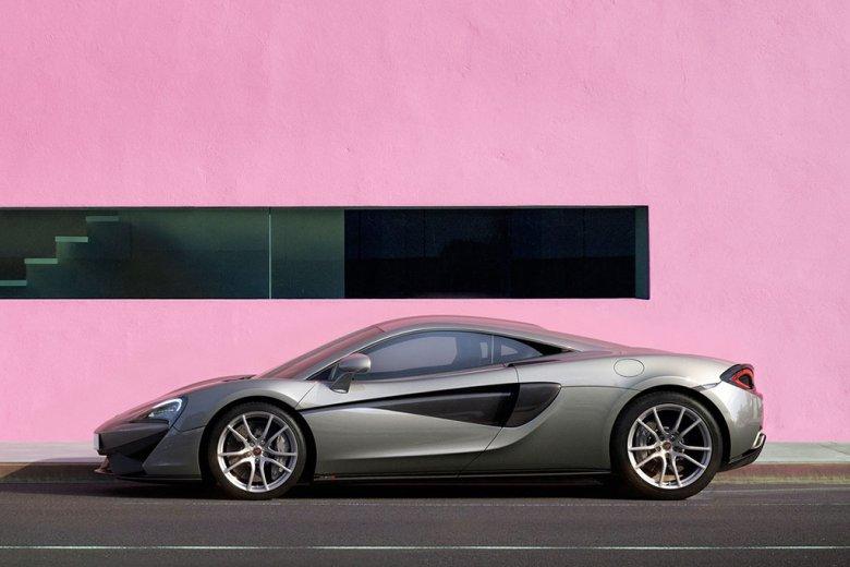 Fiocco rosa in casa McLaren: ecco la nuova 570S