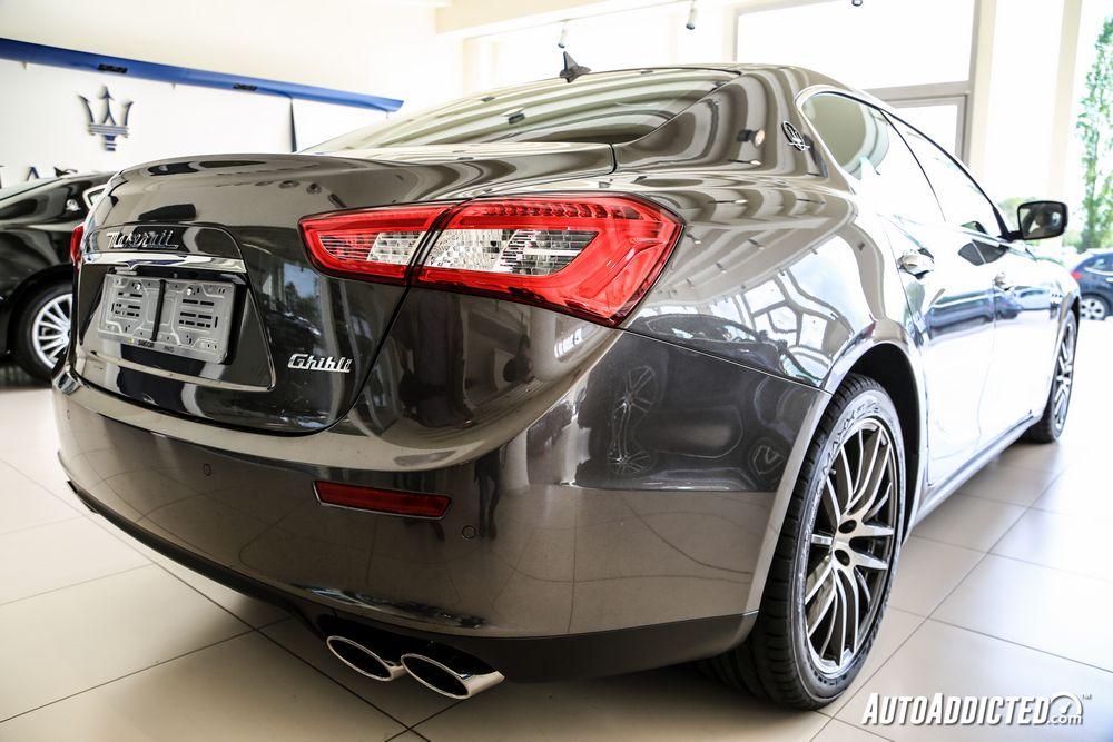 Maserati Ghibli Diesel 275: prova su strada