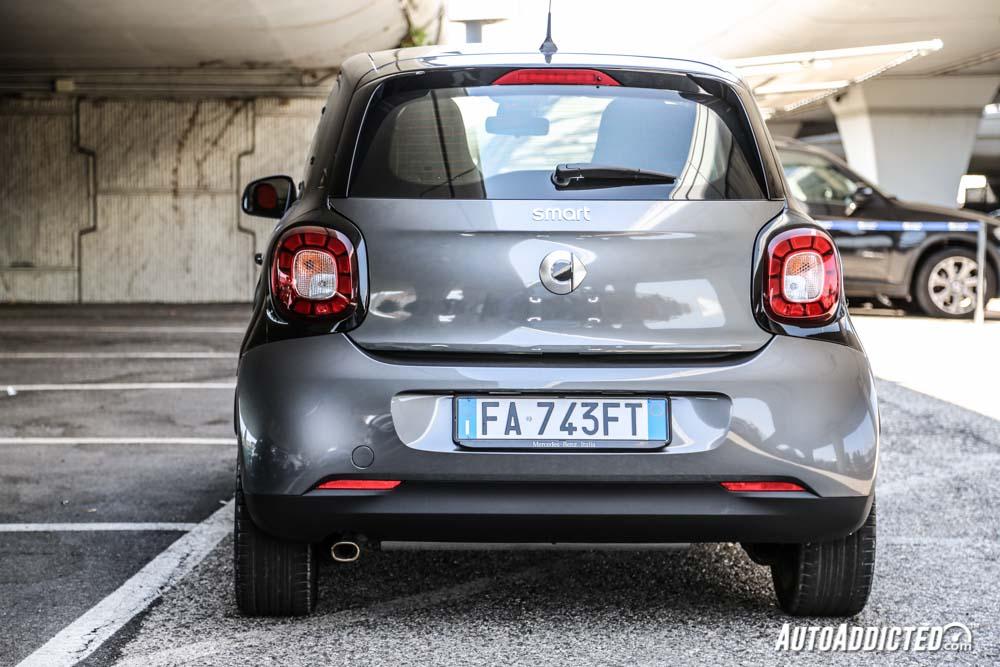 Smart forfour 70 CV twinamic: prova su strada