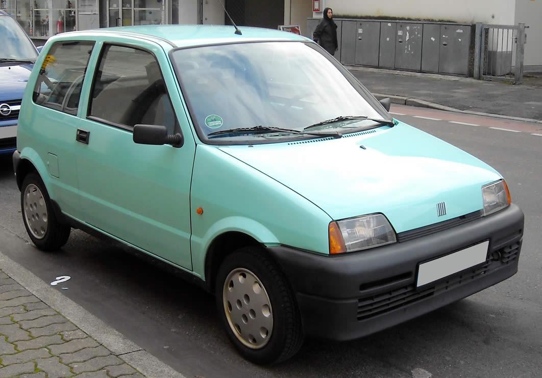 Fiat_Cinquecento_front Le peggiori auto degli ultimi 30 anni secondo Auto Addicted