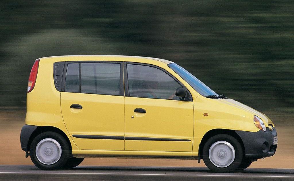 Hynudai-Atos-in-Yellow-Colour Le peggiori auto degli ultimi 30 anni secondo Auto Addicted