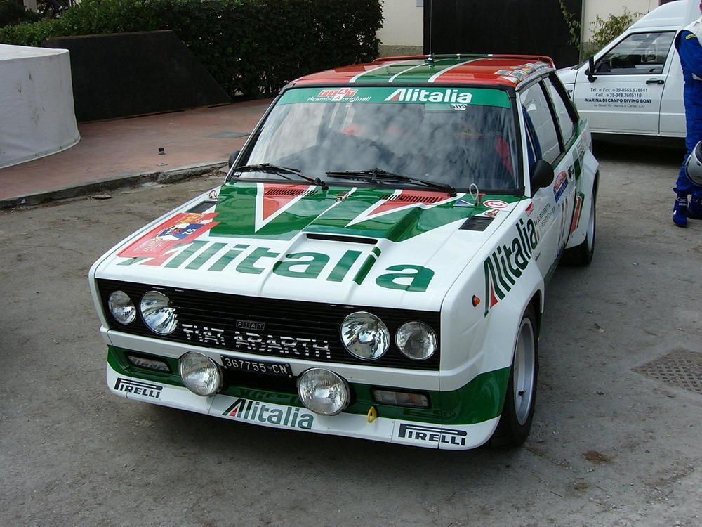 fiat-131-abarth-alitalia-2 Le 10 più belle livree del motorsport secondo AutoAddicted