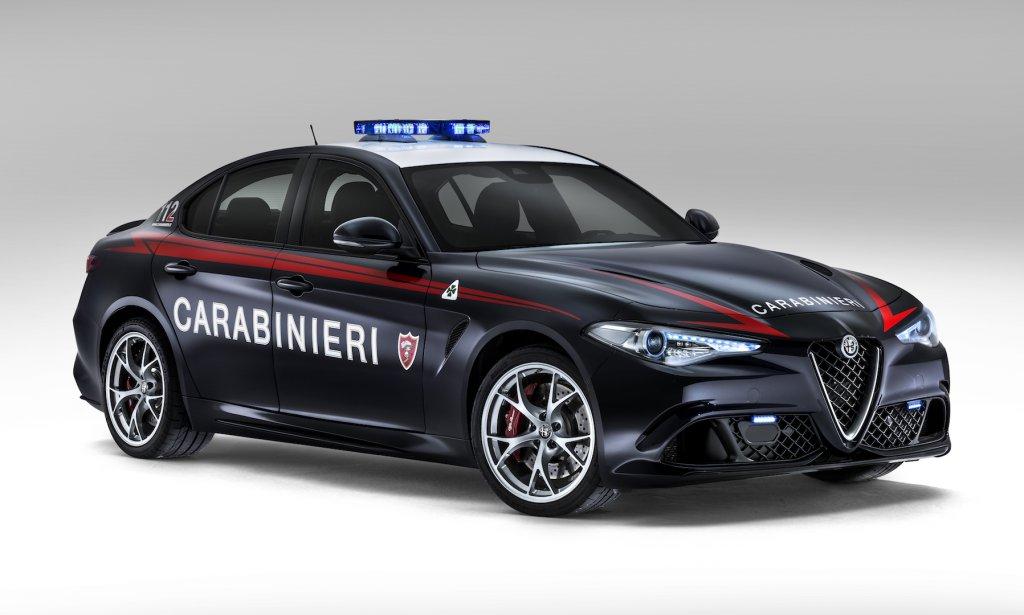 Le gazzelle più veloci del mondo: due Giulia Quadrifoglio per l'Arma dei Carabinieri