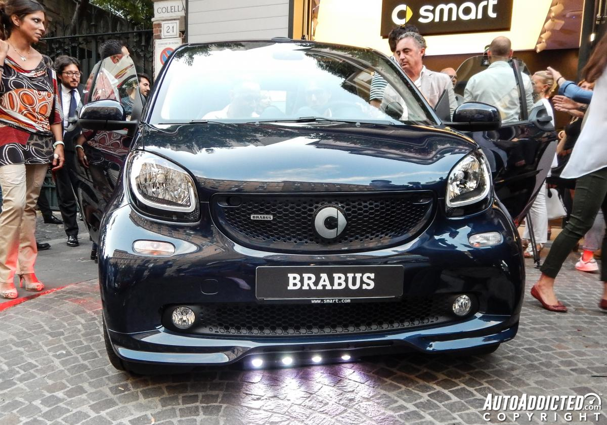 Nuova Smart Brabus: primo contatto dal vivo