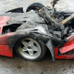 """Ferrari-F40-burn-1-3-150x150 FERRARI - """"Una F40 in meno"""" per autocombustione [FOTO]"""