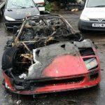 """Ferrari-F40-burn-2-6-150x150 FERRARI - """"Una F40 in meno"""" per autocombustione [FOTO]"""