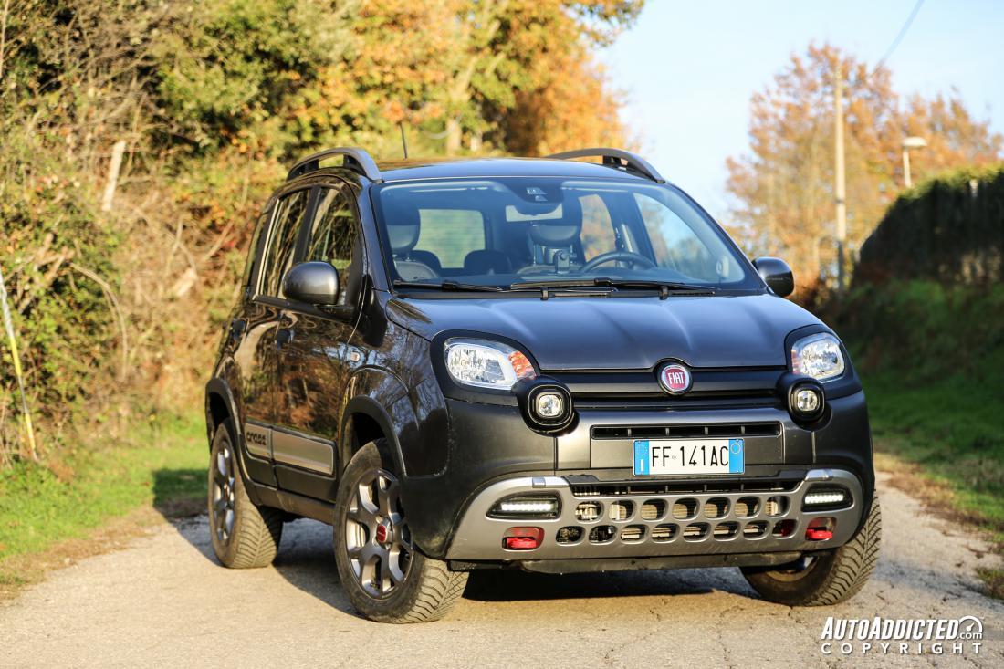 Fiat Panda 4x4 Cross La Prova Della Suv Pi 249 Piccola E