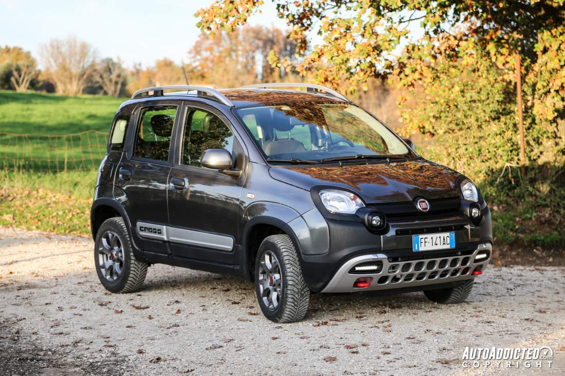 FIAT Panda 4x4 Cross: la prova della SUV più piccola e ...