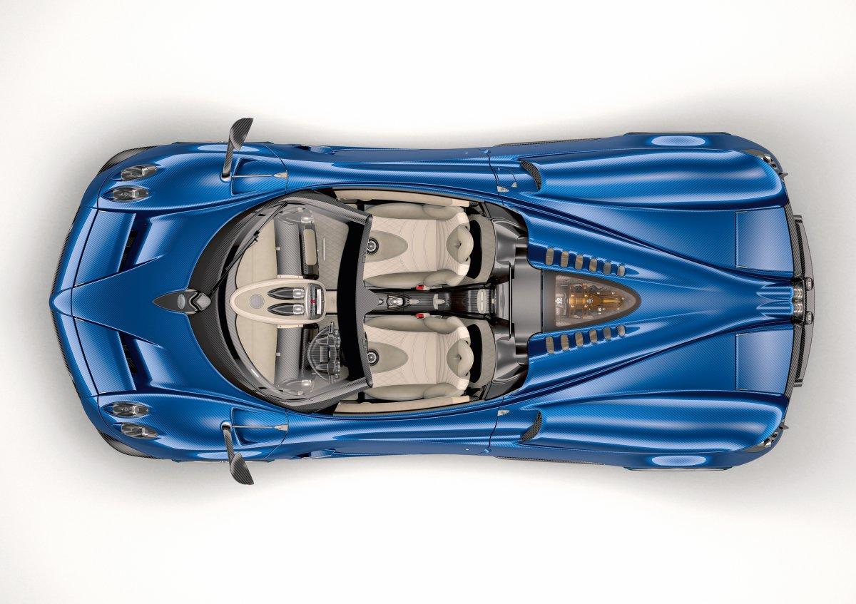 huayra_roadster_04 Pagani Huayra Roadster: quando l'auto diventa arte