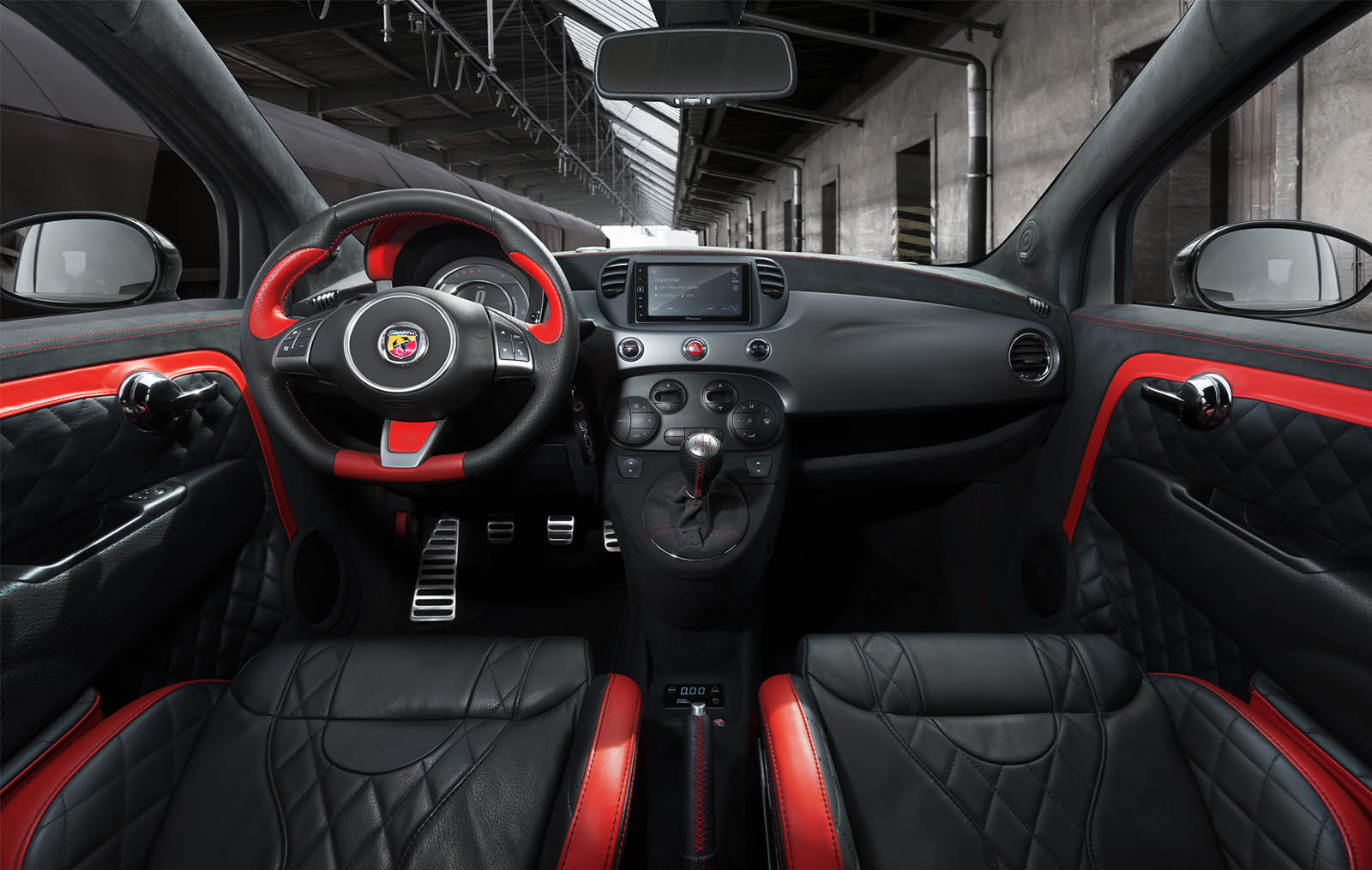 Fiat-500-Abarth-by-Pogea-Racing-22 Ares 500 Pogea Racing: quando raddoppiare la potenza non è abbastanza