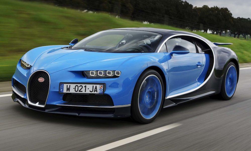 Bugatti-Chiron Le 10 auto più costose del 2017