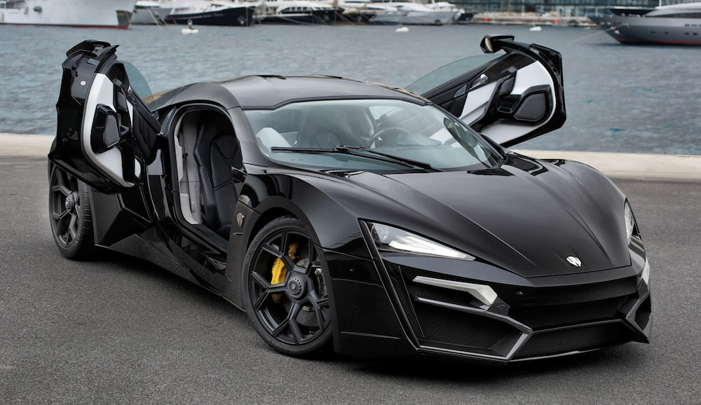 lykan_hypersport Le 10 auto più costose del 2017