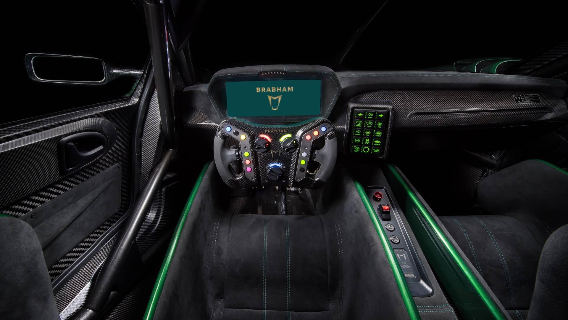 Ora è tra noi: ecco la Brabham BT62 da 710 cv