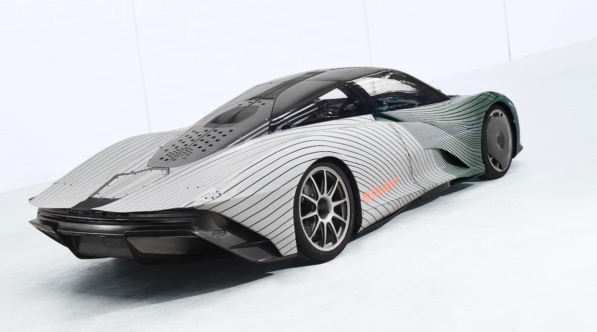 McLaren Speedtail: Tra un anno le prime consegne, intanto iniziano i test su strada