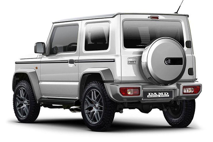 La Suzuki Jimny che vuole diventare una Star: il kit estetico che la trasforma in una G-Class