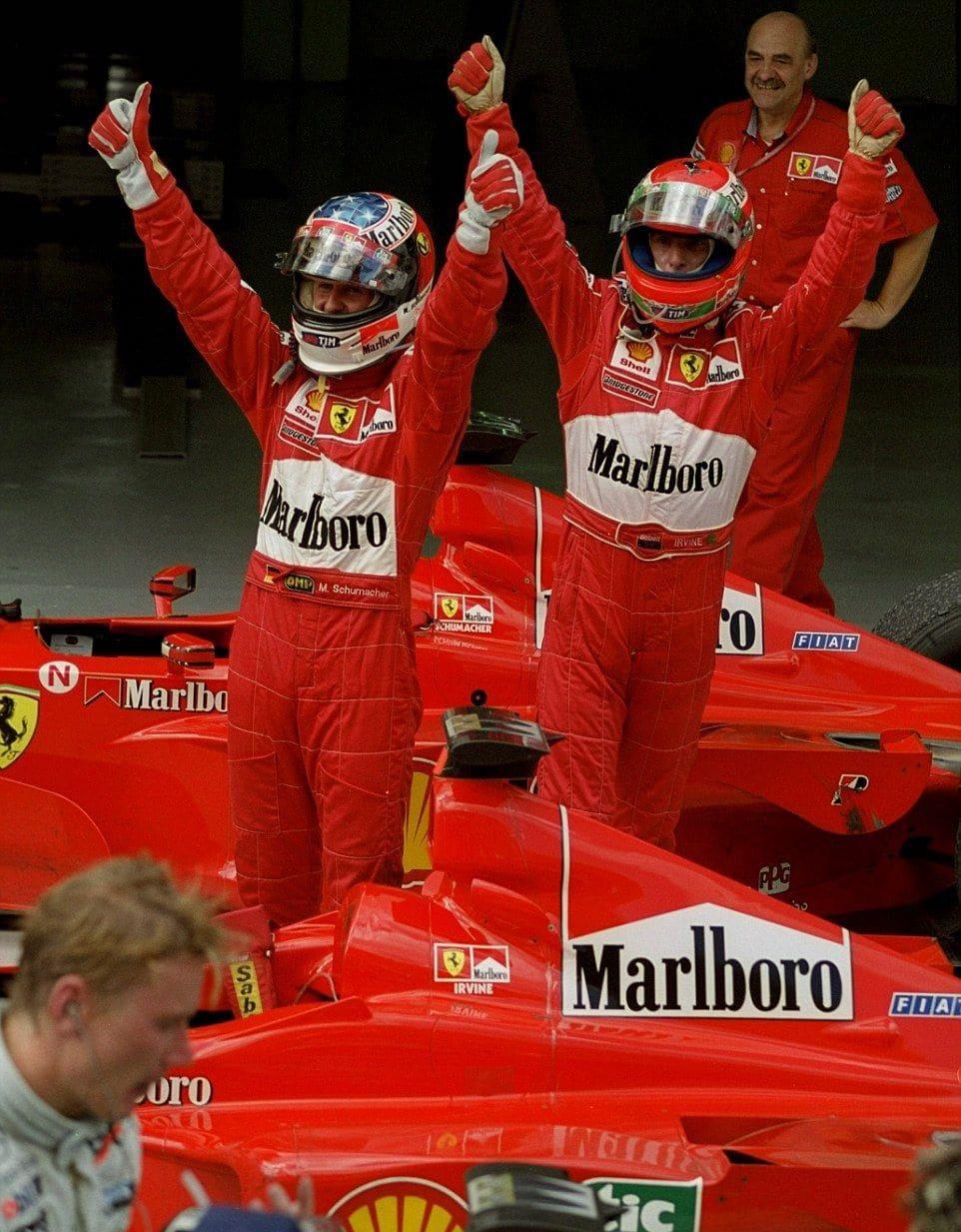 Eddie Irvine, come (non) ci sei  riuscito?
