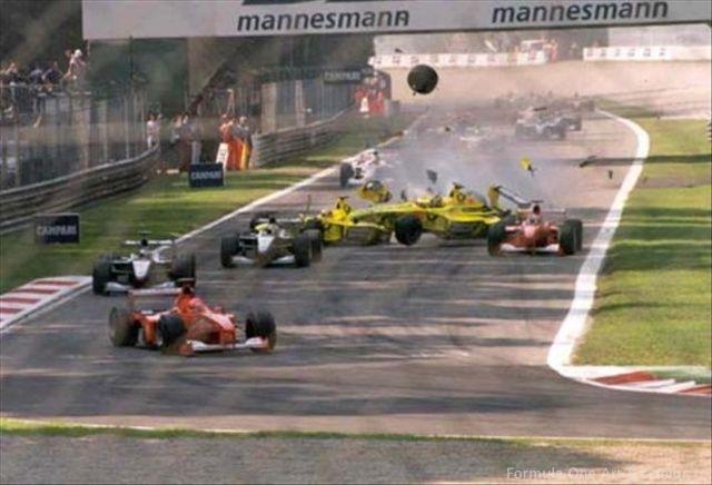 Monza 2000, le lacrime di Michael