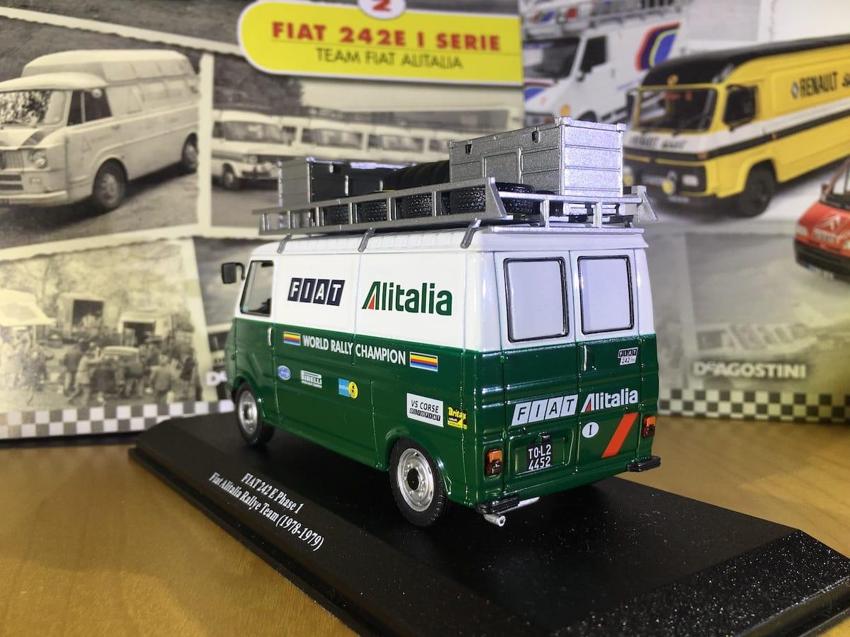 Rally Assistance, la prima collezione incentrata sui furgoni di assistenza nei rally
